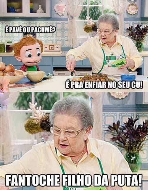 Cuzao - meme