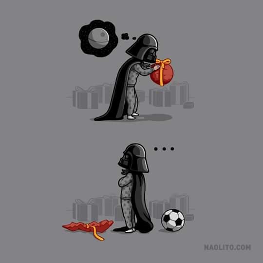 El pequeño Vader - meme