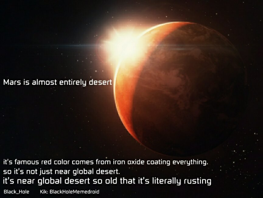 The Red Planet - meme