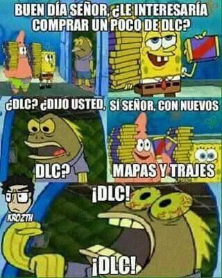 Dlc everywhere - meme