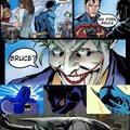 Superman sendo pior que o Aquaman