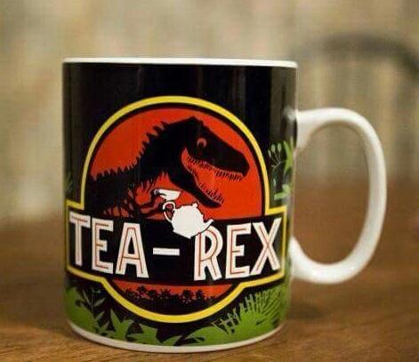 tea-Rex - meme