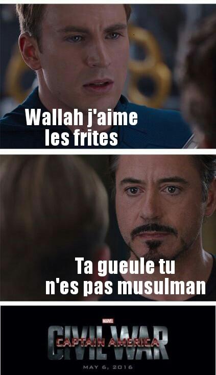 Arretez de dire Starfullah ou Wallah svp - meme