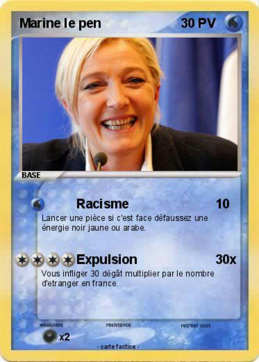 Pokemon de type nationaliste - meme