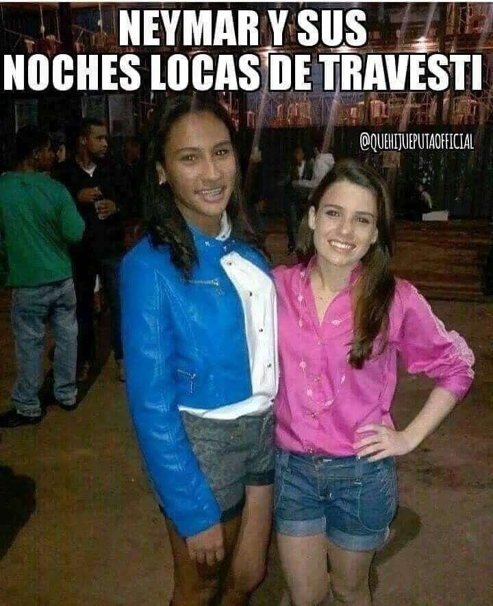 Jajjaajjaa ese Ney es un loquillo - meme