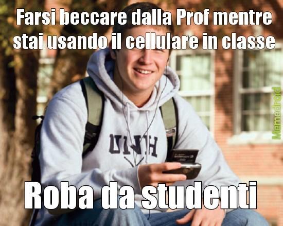 A scuola - meme