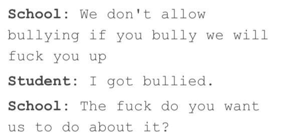Stop bullying! - meme