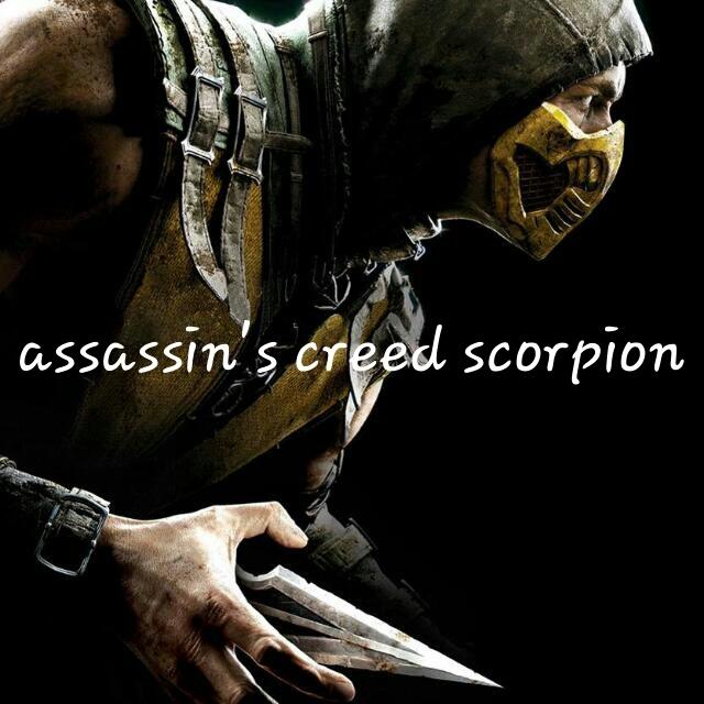 Assassin's creed scorpion - meme