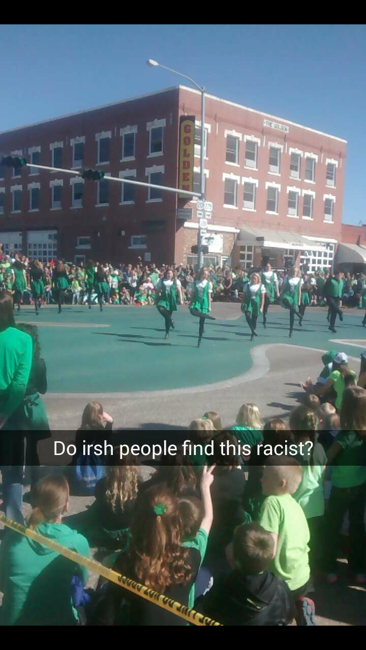St patties day in Nebraska - meme