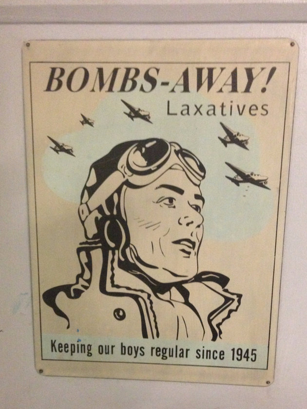 Found this at an RAF Museum on the toilet doors :) - meme