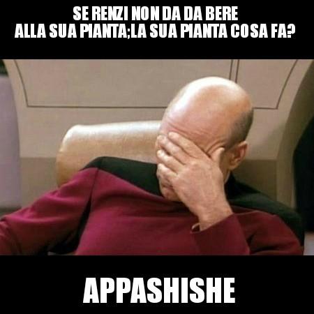 Renzi's life - meme