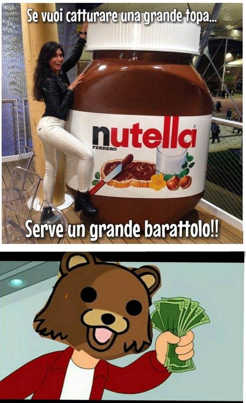 Nutella marpiona - meme