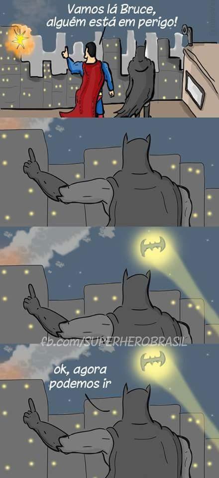 Batman sendo Batman - meme