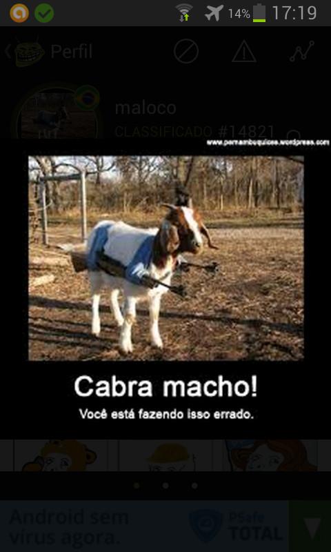 Cabra macho - meme