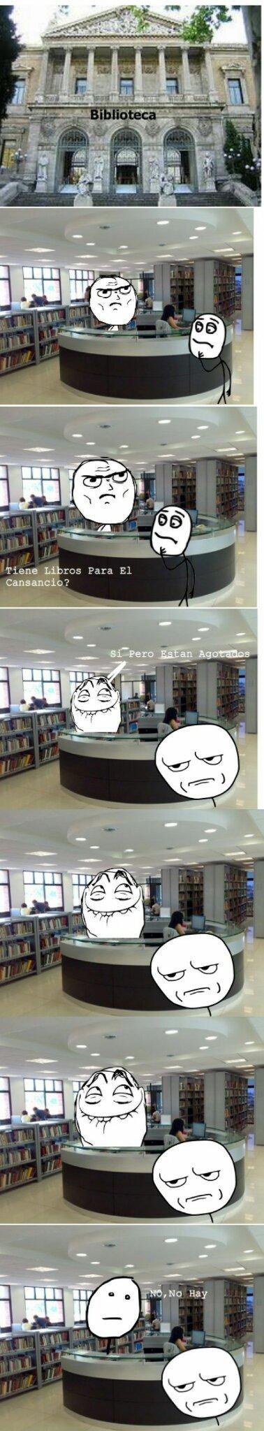 Los bibliotecarios y sus bromas - meme