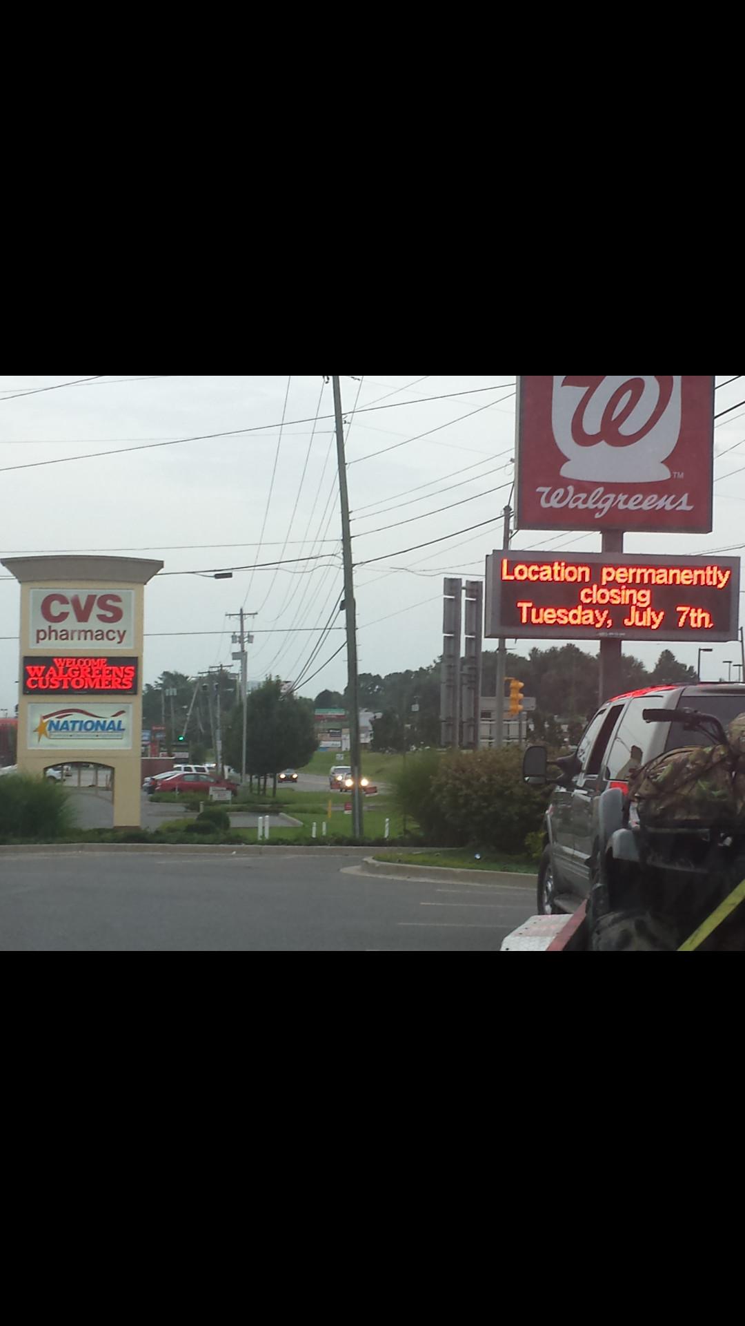 CVS welcomes Walgreens customers - meme