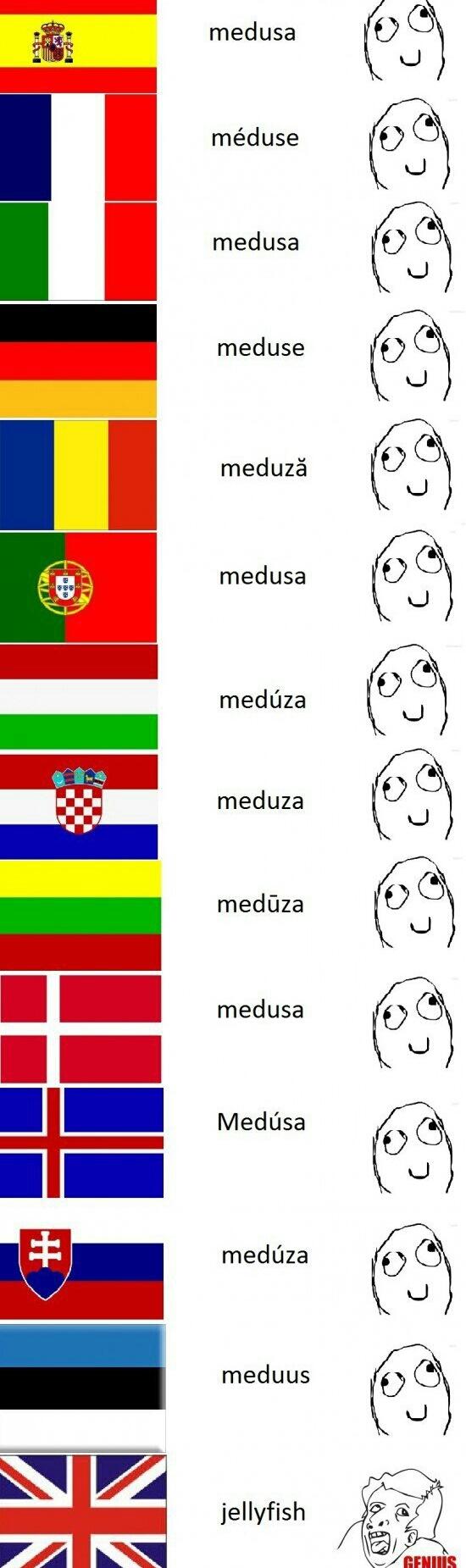 Esses ingleses - meme