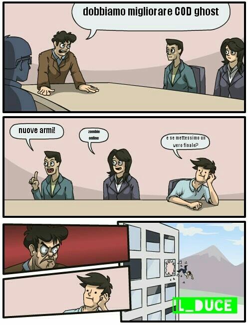 "Seconda vignetta :""zombie online"" - meme"