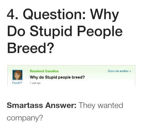 Best yahoo questions - meme