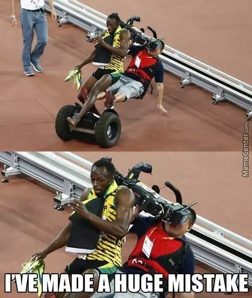 poor Usain bolt - meme