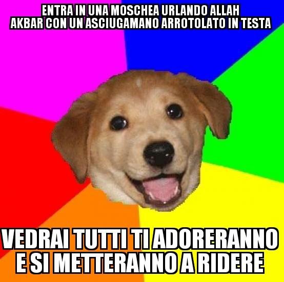 Parlate italiano? - meme