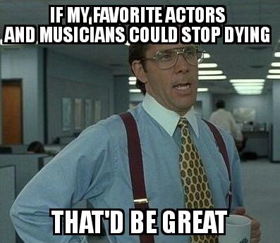 RIP Glenn Frey - meme