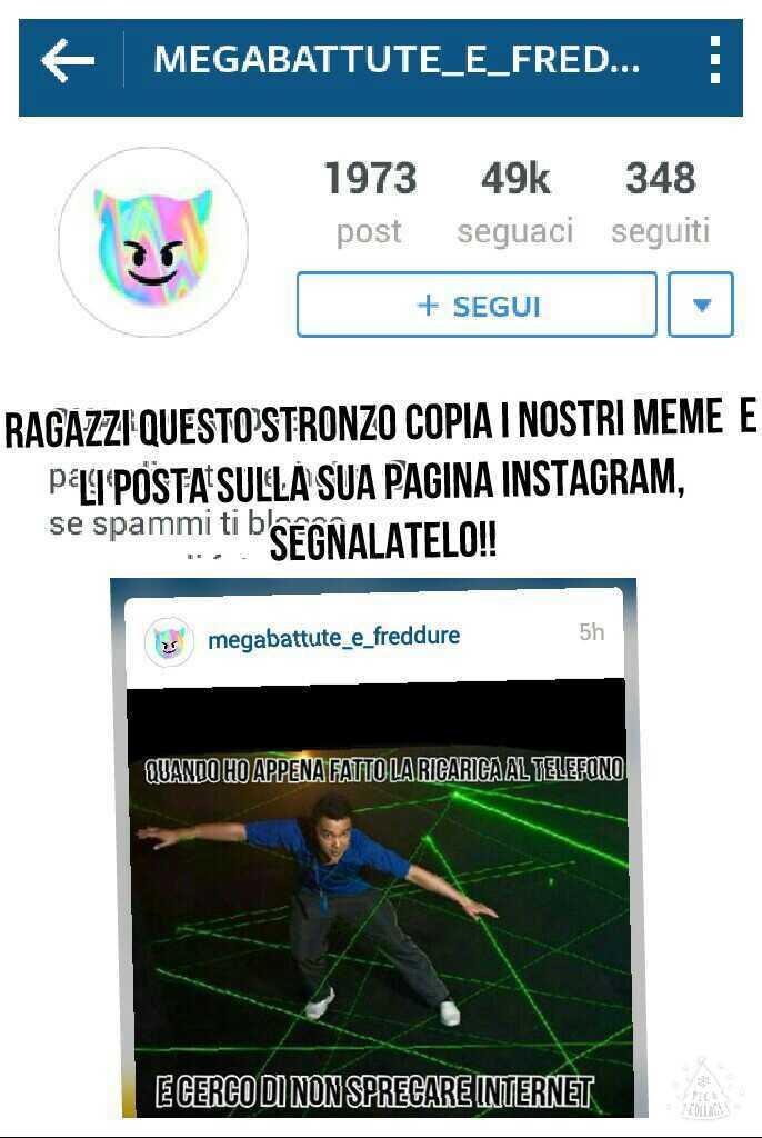 megabattute_e_freddure (SEGNALATELO SU INSTAGRAM! !! ) - meme