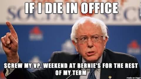 Oh that Bernie