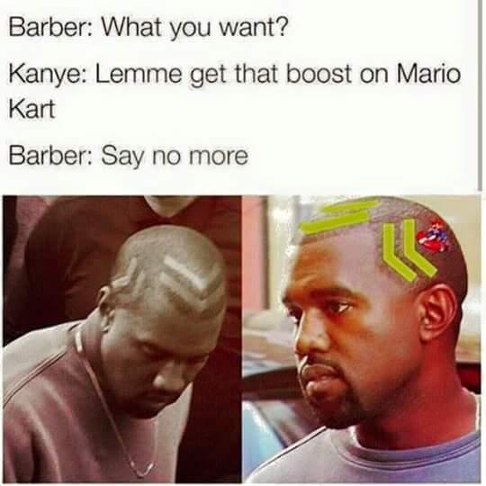 Kanye kart - meme