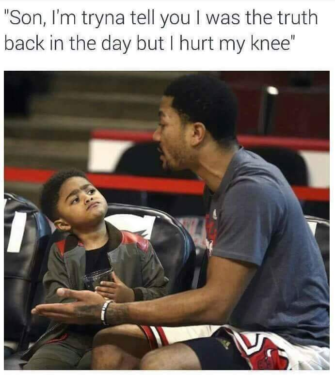 D.Rose be like... - meme