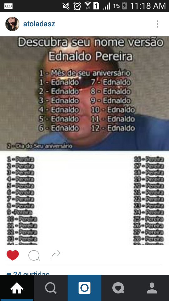 Nossa, o meu e Ednaldo Pereira, queria o Ednaldo Pereira - meme