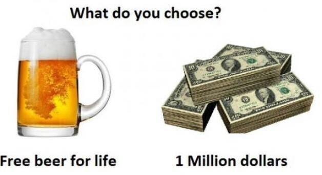 I choose life - meme