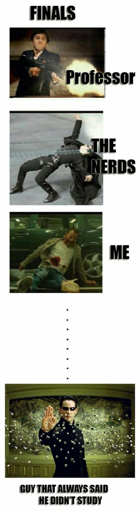 happens on every test - meme