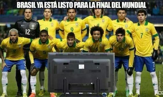 Brasil y la final - meme