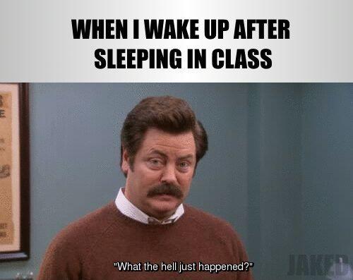 school started today ✖ - meme