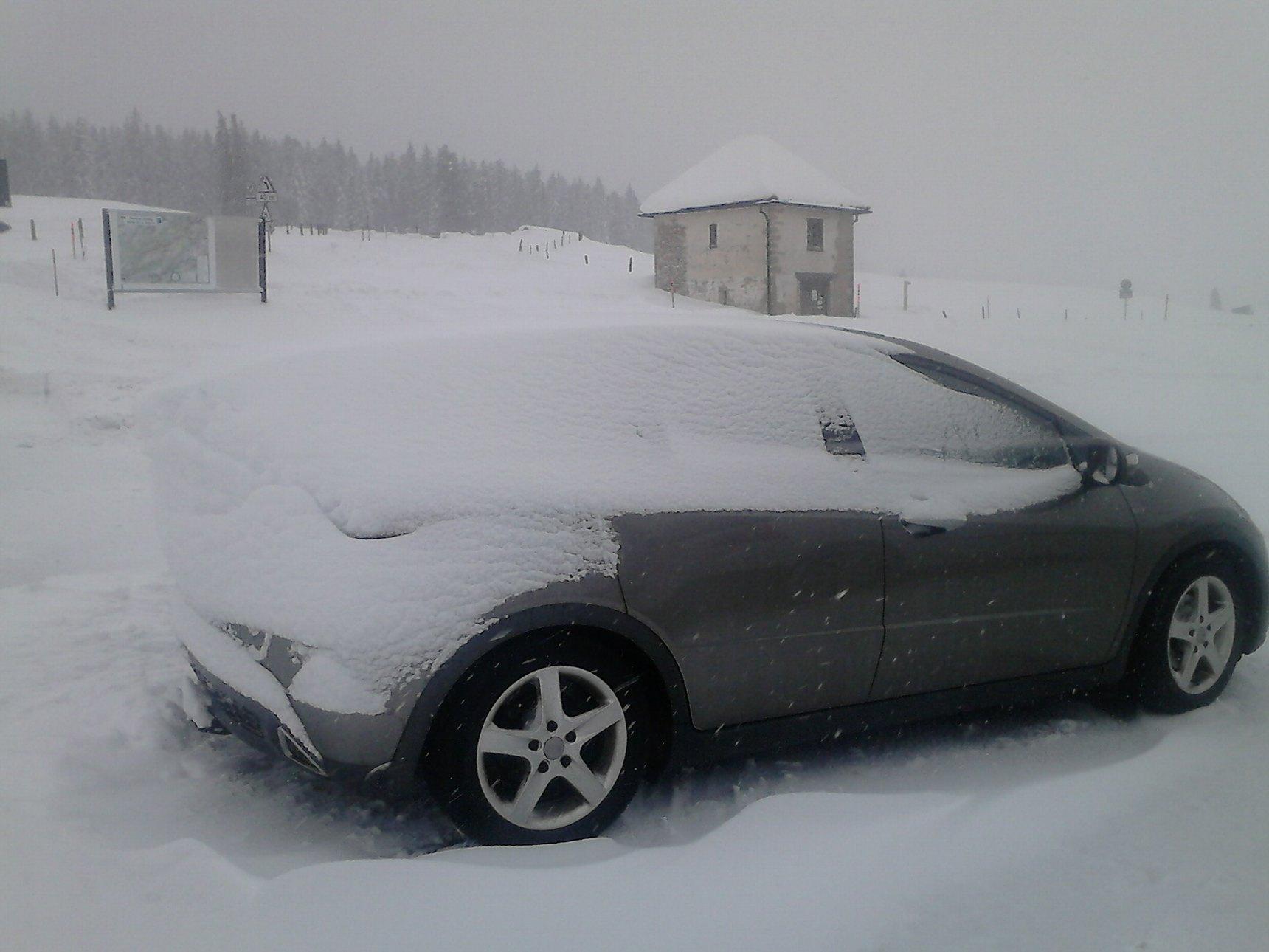 L'aérodynamisme de la neige - meme