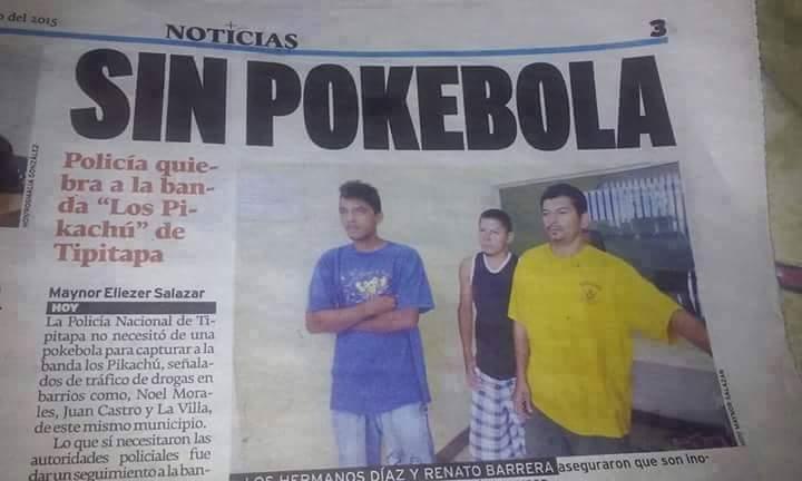 La banda pikachu - meme