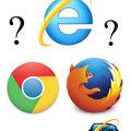 Le titre est dans la corbeille avec Internet Explorer
