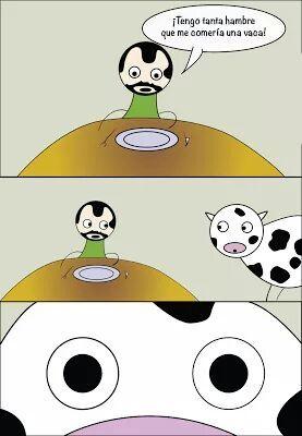 La vaca sabeee! - meme