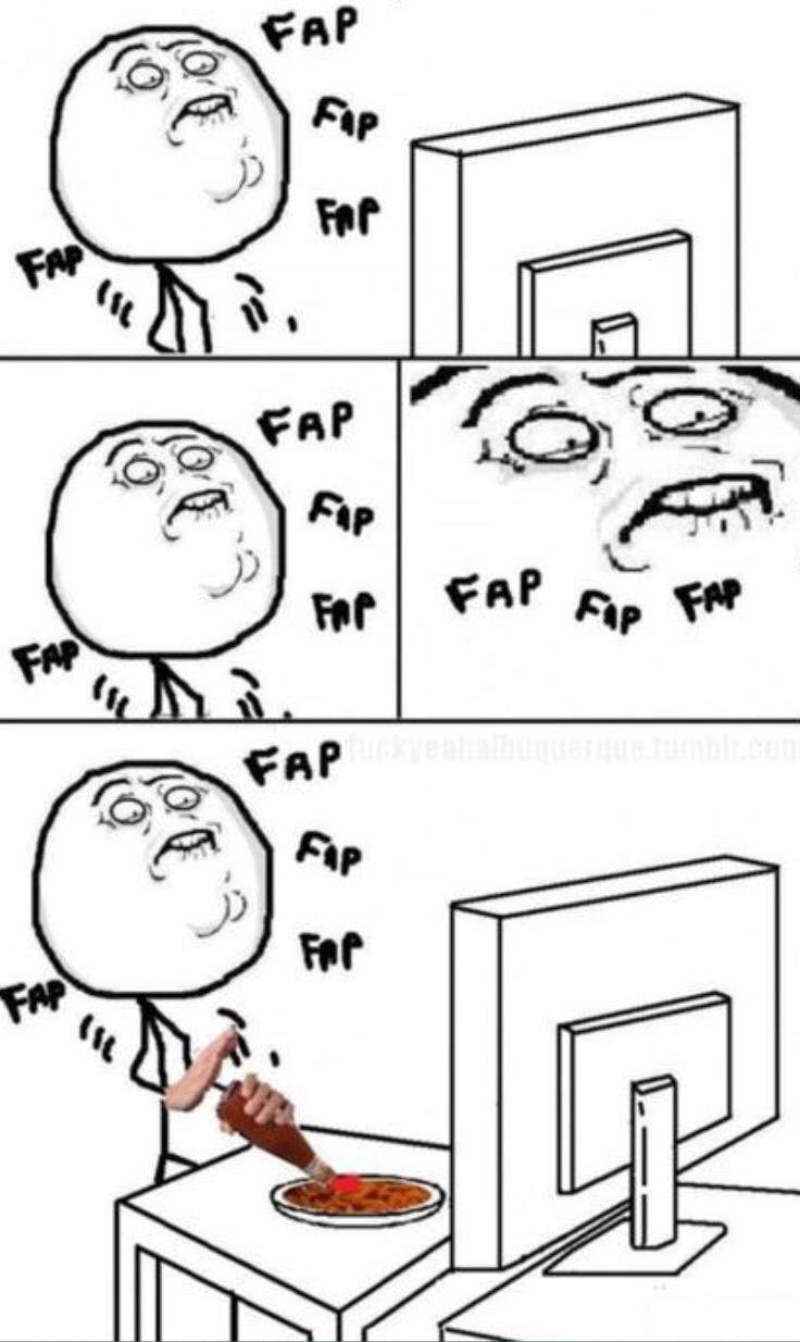 Fap fap fap - meme