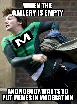 Na Na Na Na Na Na Na Na, meme-man!