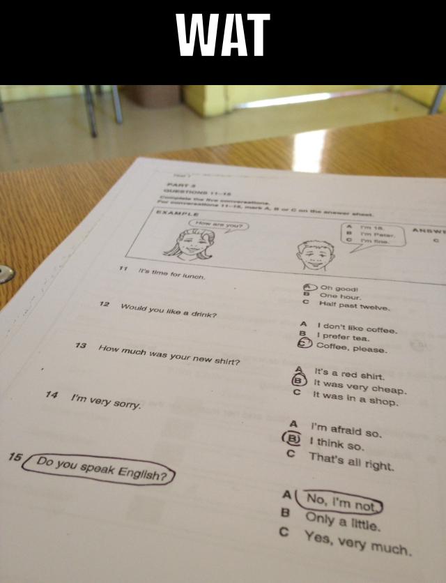 En mi colegio xD - meme