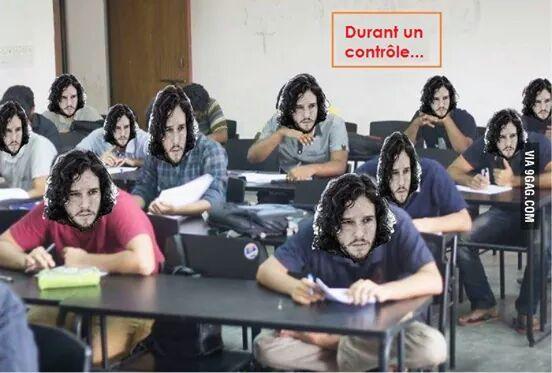 You know nothing Jon Snow - meme