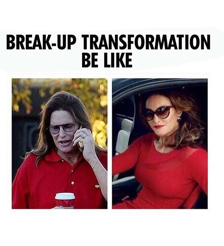 Breakups suck. :c - meme