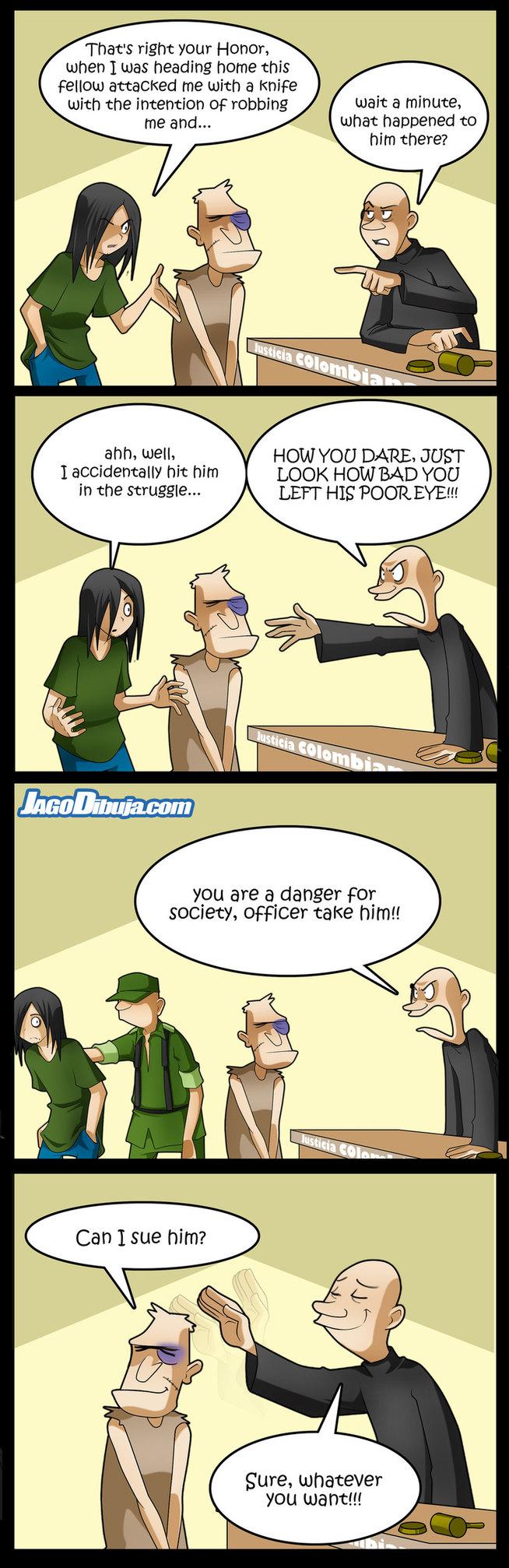 our present judicial system - meme