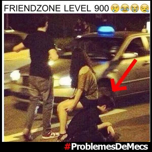 Friendzone lvl 900 - meme