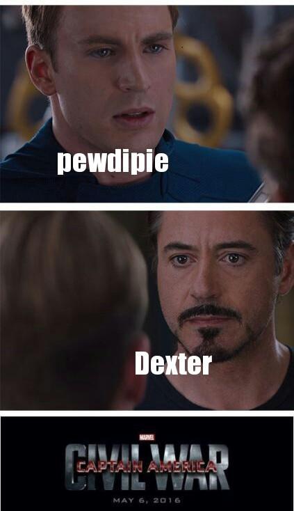 Dexter forever - meme