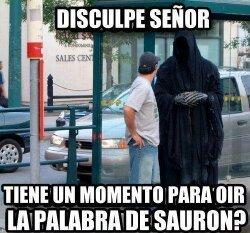 Testigos de SAURON!! - meme