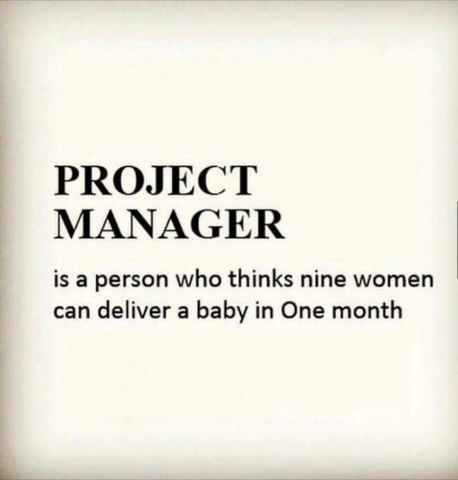 project manager be like - meme