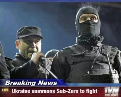 Putin shall call upon Scorpian - meme